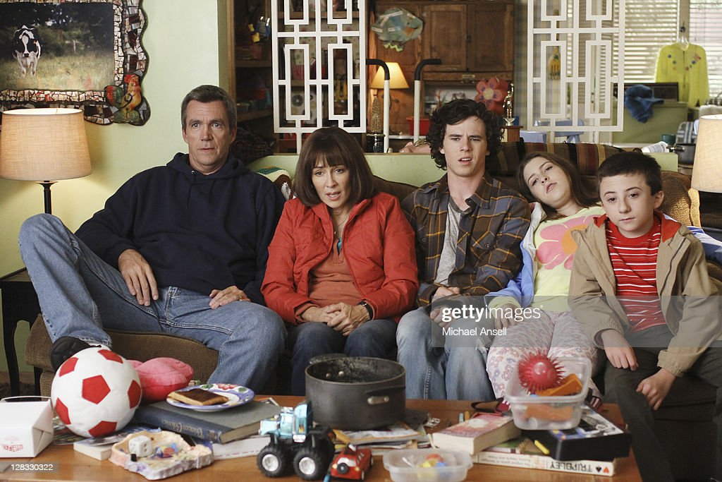 THE MIDDLE - 'Bad Choices' - As the Heck home begins to literally fall apart, Frankie and Mike consider leaving homeownership behind and moving the family to an apartment. Meanwhile, Axl tries to fake Frankie out by pretending that he's sick in order to get out of taking a school test - and must later convince her that he's well enough to attend a party that evening; Sue and her ex-sort-of-boyfriend, Brad, volunteer to prepare a school skit about showing the dangers of texting and drinking while driving; and Brick tries to offer a little bit of levity by spouting off Shakespearian quotes, on 'The Middle,' WEDNESDAY, OCTOBER 19 (8:00-8:30 p.m., ET) on the ABC Television Network. (Photo by Michael Ansell/ABC via Getty Images)NEIL