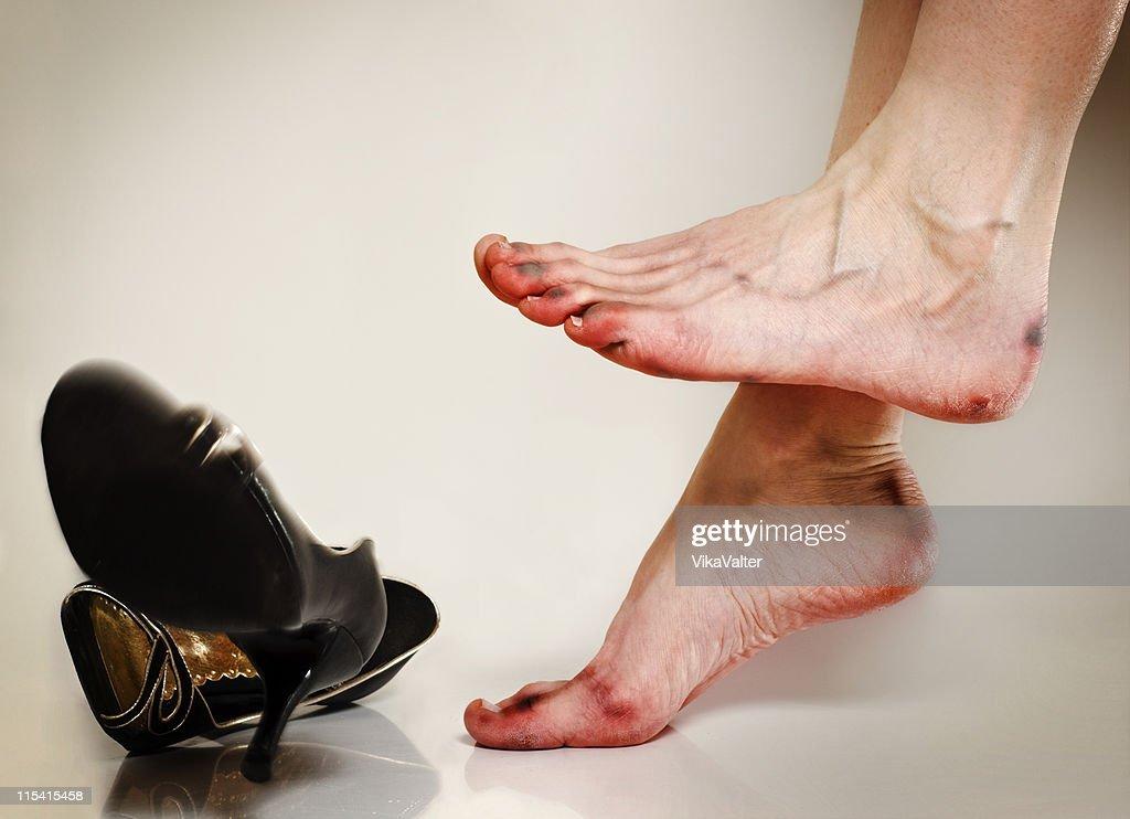 bad feet