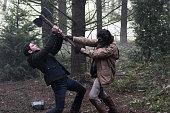 GRIMM 'Bad Luck' Episode 414 Pictured David Giuntoli as Nick Burkhardt Richard Brake as Nigel Edmund