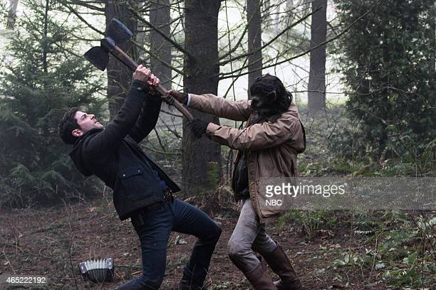 GRIMM 'Bad Luck' Episode 414 Pictured David Giuntoli as Nick Burkhardt Richard Brake as Nigel Edmund
