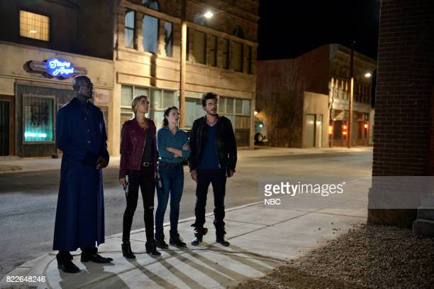 MIDNIGHT TEXAS 'Bad Moon Rising' Episode 102 Pictured Peter Mensah as Lemuel Arielle Kebbel as Olivia Sarah Ramos as Creek Francois Arnaud as Manfred