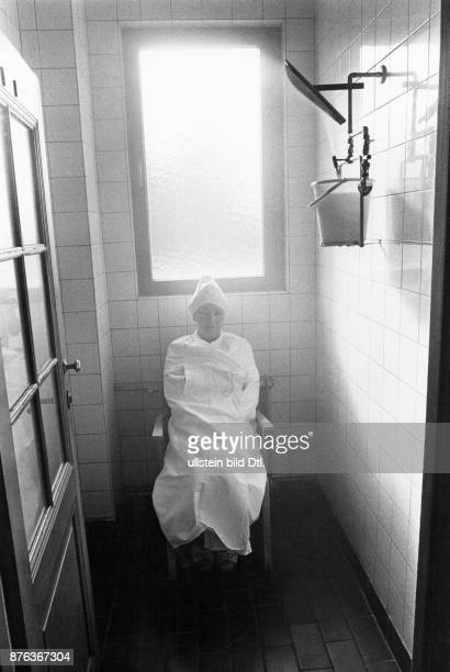 Bad Soden female patient during medical treatment in the thermal spa