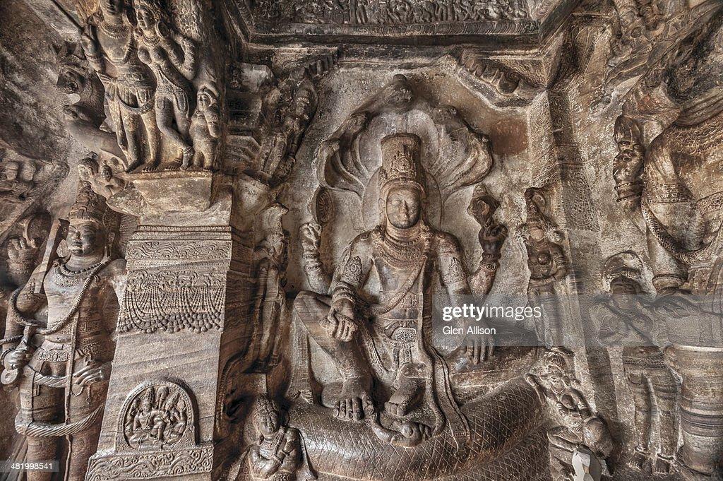 Badami Cave Temple, Badami, Karnataka, India