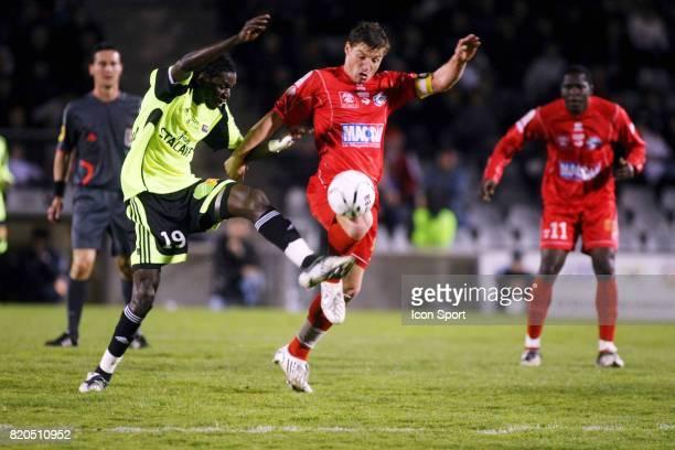 Badara SENE / Mehdi MOSTEFA Nimes / Guingamp 29 eme journee de Ligue 2