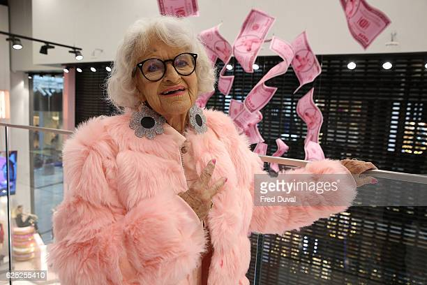Baddie Winkle launch Missguided store at Westfield Stratford City on November 23 2016 in London England