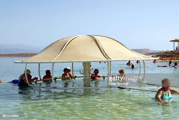 Badegäste Hotel Totes Meer Israel Naher Osten Asien Wüste Strand Reise BB DIG PNr 610/2008