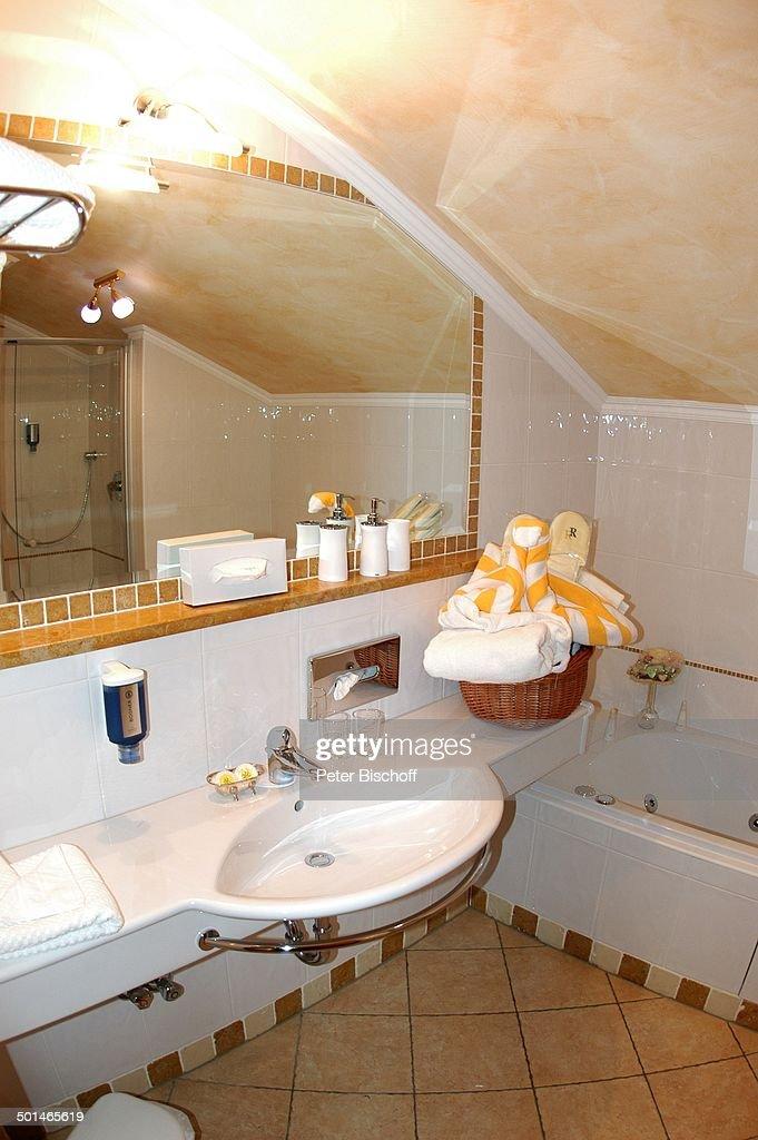 Badezimmer Einer Suite, Hotel U0027Rigele Royalu0027, Obertauern, Bundesland  Salzburg, Österreich