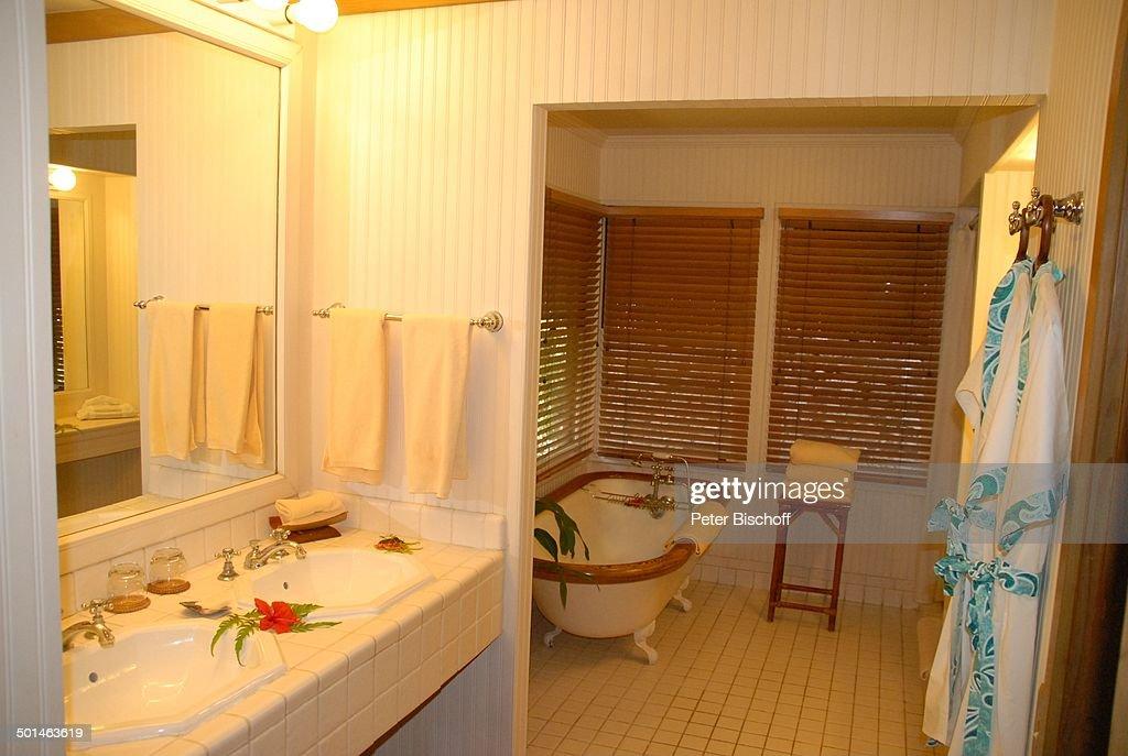 Badezimmer, Luxus Bungalow (800 Euro/Nacht), U0027Hotel Bora Bora