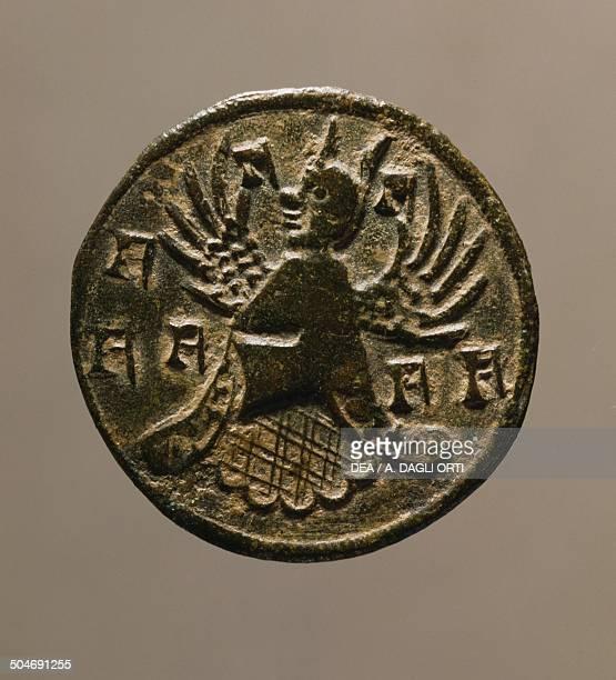 Badge of Francesco II da Carrara Lordship of Carrara 14th century