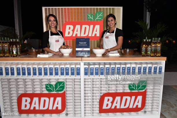 Badia on display at Barilla's Italian Bites on the Beach Sponsored by HCP Media and the Miami Herald Media Company Hosted by Valerie Bertinelli Alex...