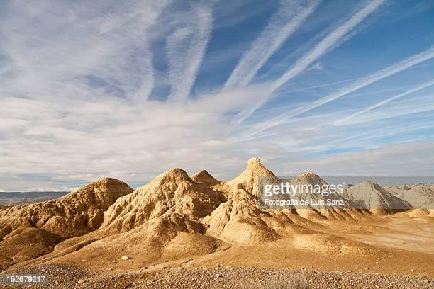 Badlands in Alta White Bardena