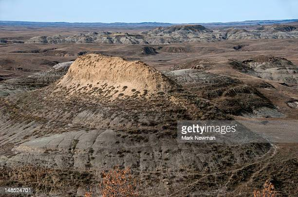 Badlands landscape.