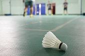 Badminton in the field