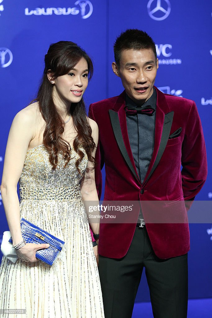 Badminton player <a gi-track='captionPersonalityLinkClicked' href=/galleries/search?phrase=Lee+Chong+Wei&family=editorial&specificpeople=647820 ng-click='$event.stopPropagation()'>Lee Chong Wei</a> attends the 2014 Laureus World Sports Awards at the Istana Budaya Theatre on March 26, 2014 in Kuala Lumpur, Malaysia.