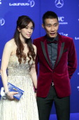 Badminton player Lee Chong Wei attends the 2014 Laureus World Sports Awards at the Istana Budaya Theatre on March 26 2014 in Kuala Lumpur Malaysia