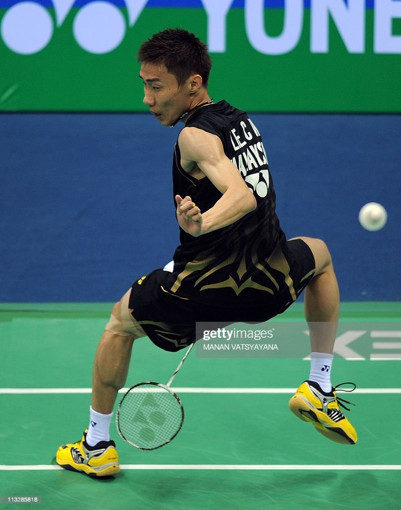 Badminton player Lee Chong Wei of Malays