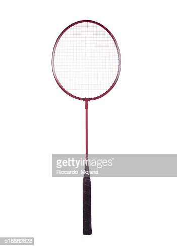 badminton racket : Stock Photo