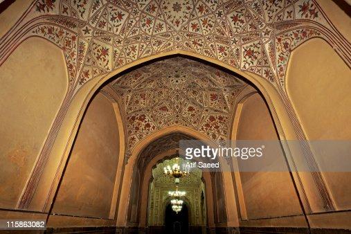 Badshahi Masjid Stock Photo Getty Images