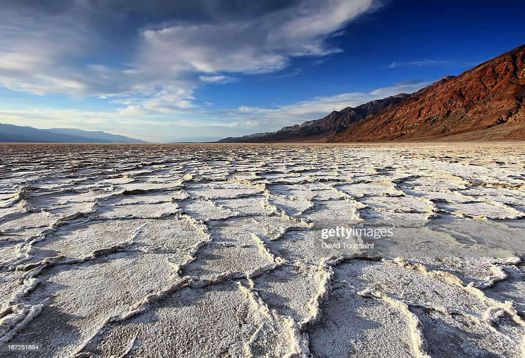 Badwater Salt Flats before Sunset