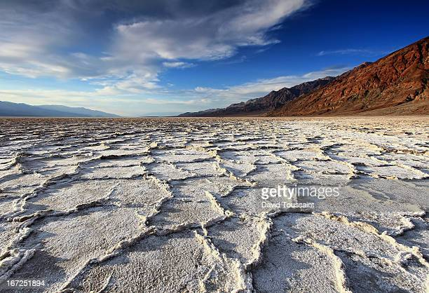 Badwater Salt Flats before Sunset