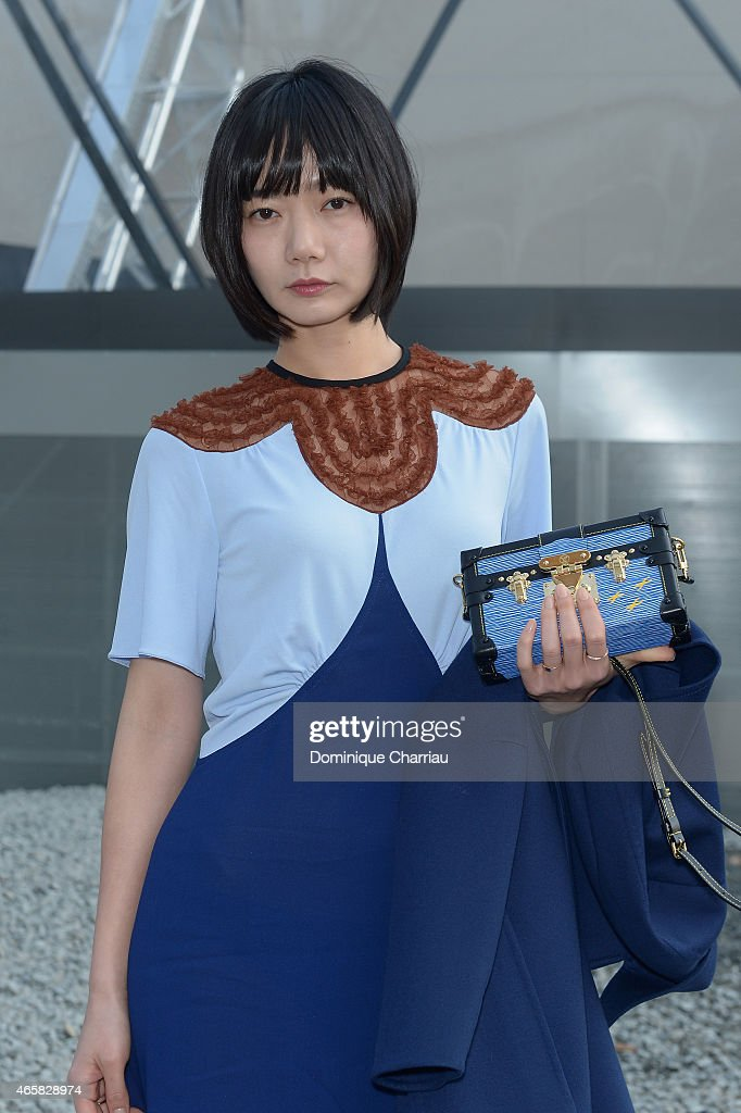 Bae Doona attends the Louis Vuitton show as part of the Paris Fashion Week Womenswear Fall/Winter 2015/2016 on March 11, 2015 in Paris, France.