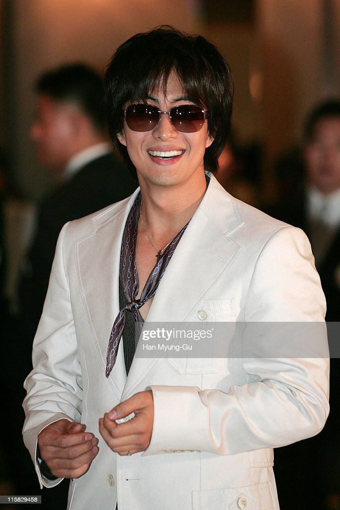 <a gi-track='captionPersonalityLinkClicked' href=/galleries/search?phrase=Bae+Yong-Joon&family=editorial&specificpeople=821953 ng-click='$event.stopPropagation()'>Bae Yong-Joon</a> during Kim Seung-Woo and Kim Nam-Ju Wedding - May 25, 2005 at W Seoul Walkerhill Vister Hall in Seoul, South, South Korea.