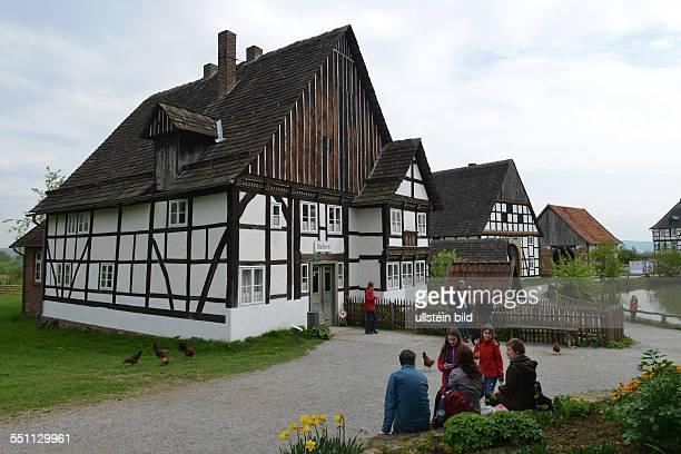 Baeckerei Paderborner Dorf Lippischwestfaelisches Landesmuseum fuer Volkskunde Detmold NordrheinWestfalen Deutschland / westfälisches für Bäclerei