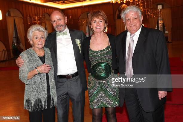 Baerbel Atalay mother of Erdogan Atalay Georg Ohneck and his wife Roswitha Ohneck parents of Katja Ohneck and Teo Atalay father of Erdogan during the...