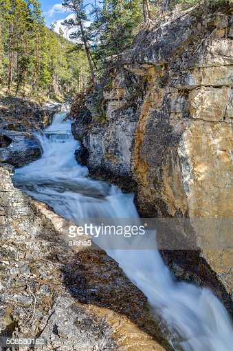 Baeuty Creek Falls : Bildbanksbilder