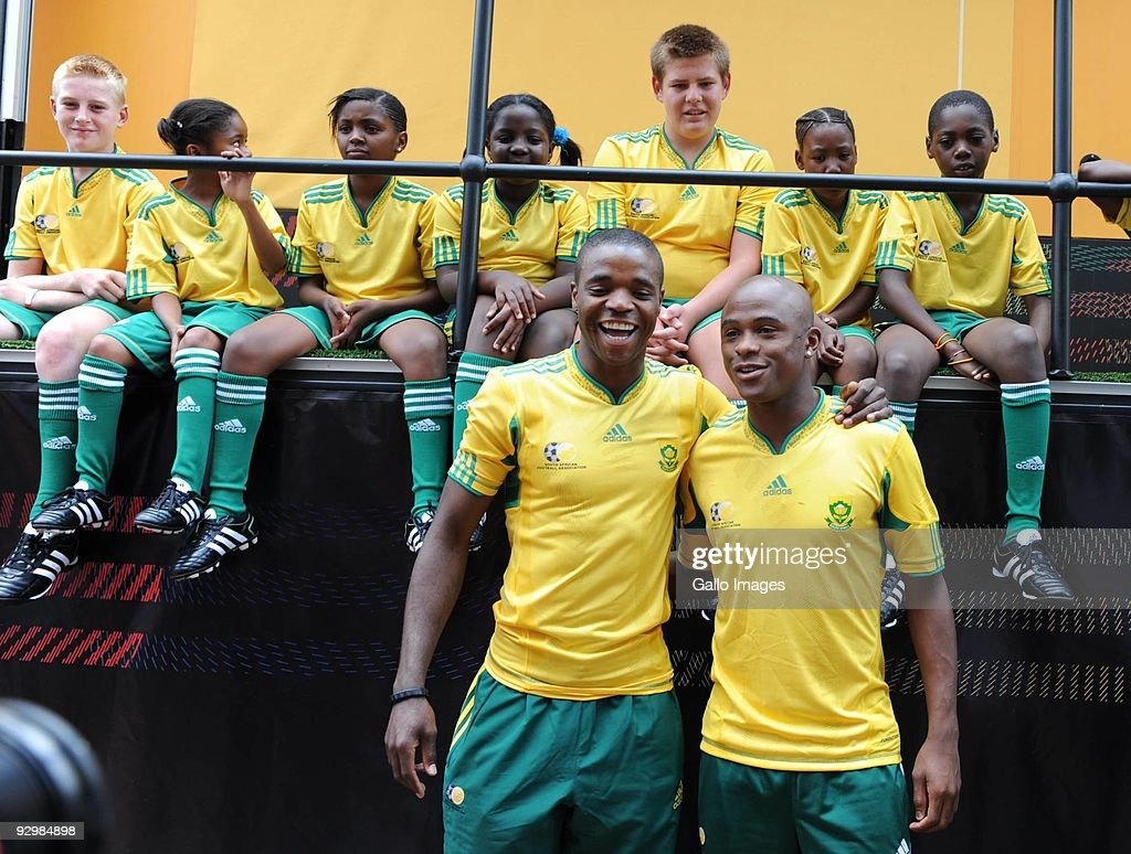 Bafana Bafana FIFA World Cup 2010 Kit Launch