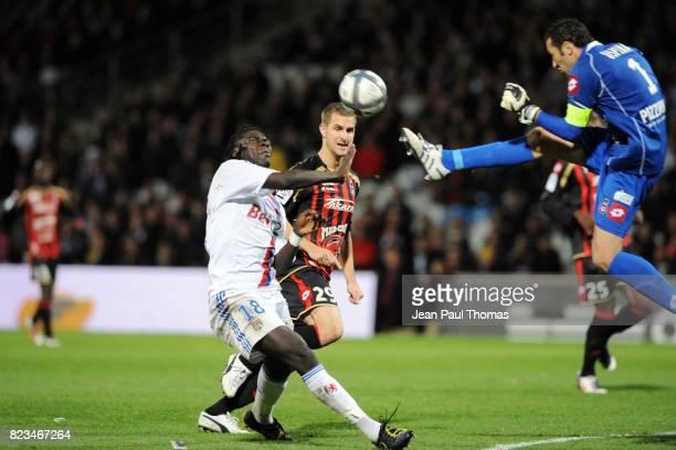 Bafetimbi GOMIS / David OSPINA Lyon / Nice 13e journee Ligue 1