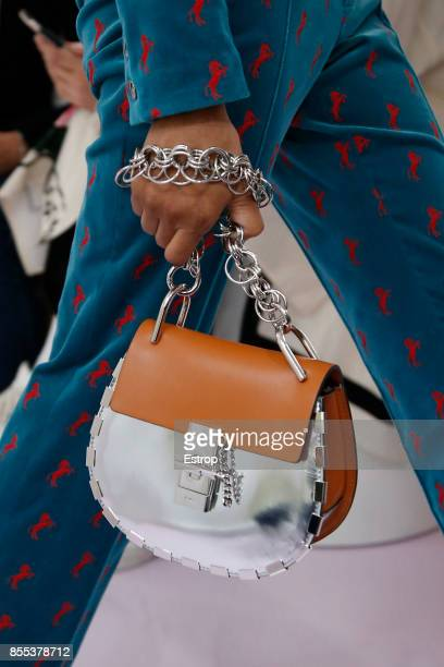 Bag Detail at the Chloe show as part of the Paris Fashion Week Womenswear Spring/Summer 2018 on September 28 2017 in Paris France