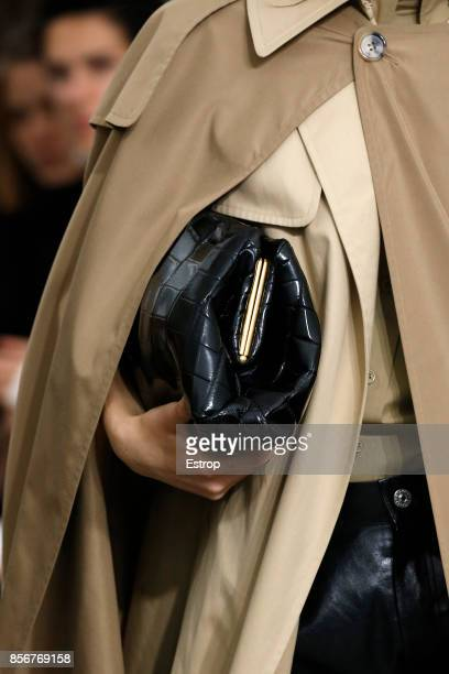 Bag Detail during the Celine show as part of the Paris Fashion Week Womenswear Spring/Summer 2018 on October 1 2017 in Paris France