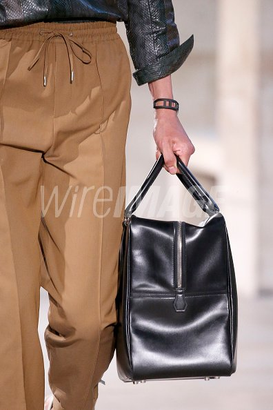 810f372b5ab2 Bag detail during the Hermes Menswear Spring Summer 2019 show as part of  Paris Fashion Week on June 23