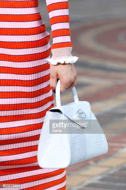 Bag Detail during the Kenzo Menswear Spring/Summer 2018 show as part of Paris Fashion Week on June 25 2017 in Paris France