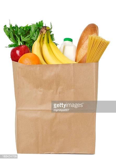 Tüte Lebensmittel