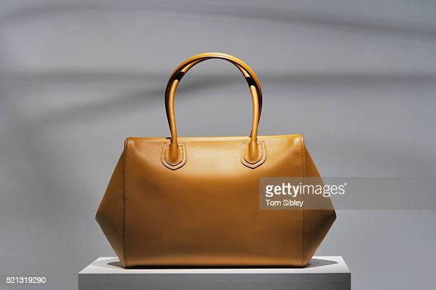 Bag on plinth