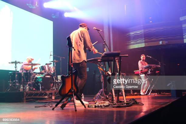 Bag Raiders In Concert at Webster Hall on June 16 2017 in New York City
