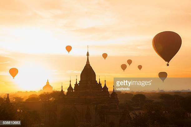 Skyline von Bagan