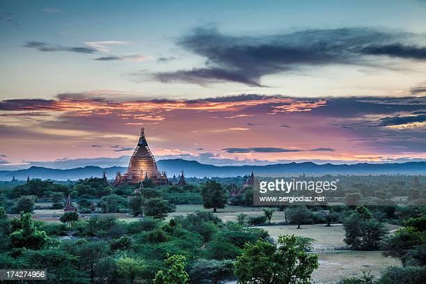 Bagan sunset II