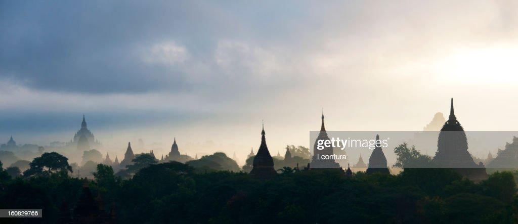 Bagan View, Myanmar : Stock Photo