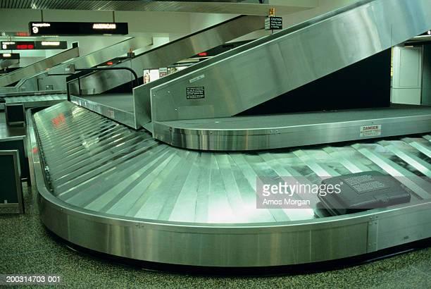 Baggage reclaim carousel at airport