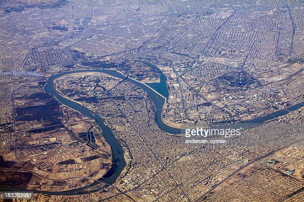 Baghdad and Tigris river