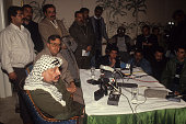 Palestine Liberation Organization President of the Palestinian National Authority [ and leader of the Fatah political party chairman Yasser Arafat...