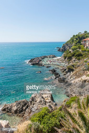 Bagno delle donne beach at talamone stock photo getty images - Bagno delle donne talamone ...