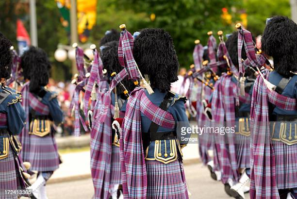 Bagpipers band
