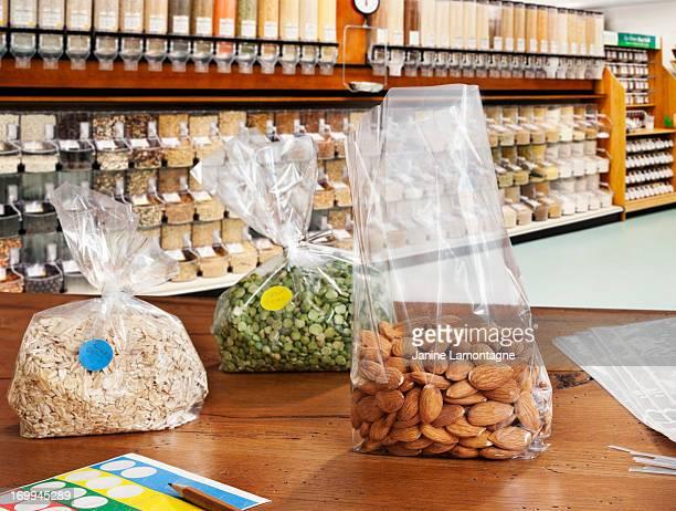 Alimentos orgánicos a granel