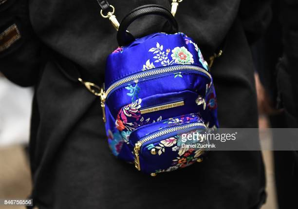 Bags seen outside the Marc Jacobs show during New York Fashion Week Women's S/S 2018 on September 13 2017 in New York City