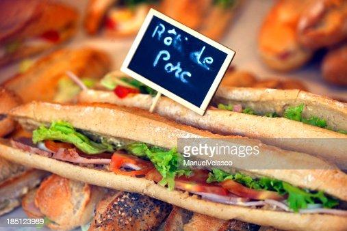 Baguette : Stock Photo
