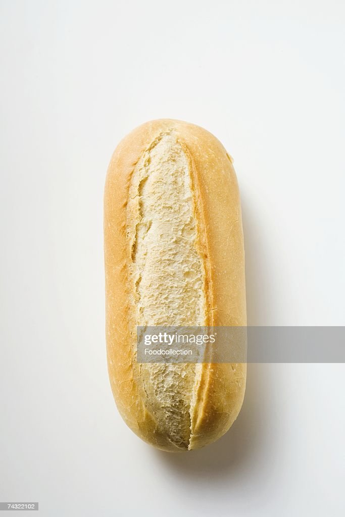 A baguette roll : Stock Photo